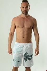 Pánske kúpacie šortky GERONIMO Cyprinus biele
