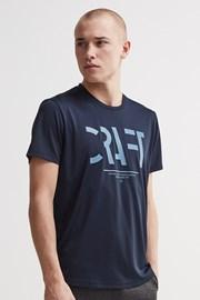 40be4f47b Pánske tričko CRAFT Eaze Mesh tmavomodré
