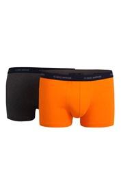 2 pack pánskych boxeriek CECEBA Jubilee Orange
