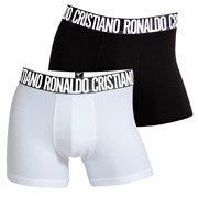 2 pack pánskych boxeriek CR7 CRISTIANO RONALDO Black White