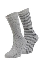 2 pack hrejivých ponožiek Oscar