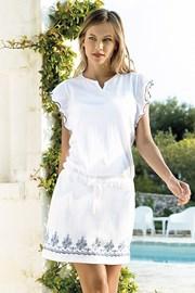 Dámske letné šaty Santorini biele