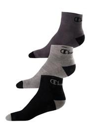3 pack ponožiek Champion Ankle nízke