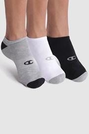3 pack ponožiek Champion kotníkové