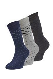 3 pack hrejivých ponožiek Tomas
