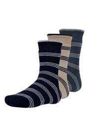 3 pack detských hrejivých ponožiek Rakr