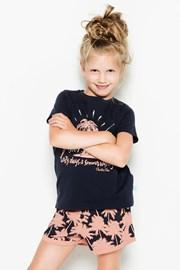 Dievčenské pyžamo Palm Trees