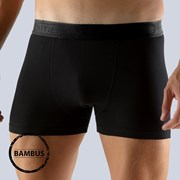 Pánske boxerky GINO Bamboo čierne