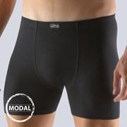 Pánske boxerky GINO Moda dlhšie čierne