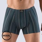Pánske boxerky GINO Modal Stripes tmavomodré
