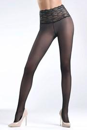 Odolné pančuchové nohavice Daniella Black