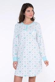 Dámska nočná košeľa Arctic modrá