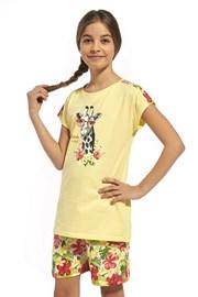 Dievčenské bavlnené pyžamo Aloha