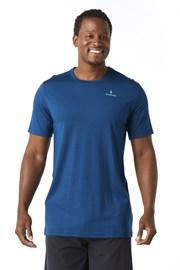 Pánske tričko SMARTWOOL Merino 150 modré