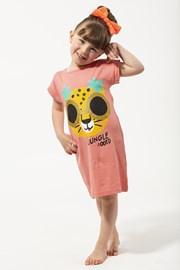 Dievčenská nočná košeľa Jungle