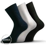 3 pack ponožiek Badon Mix bambusové spoločenské