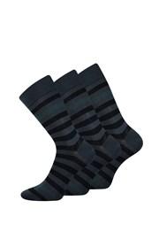 3 pack spoločenských ponožiek Demertz
