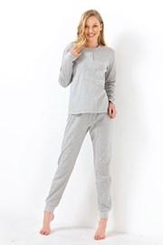 Dámske pyžamo Sweet dreams sivé