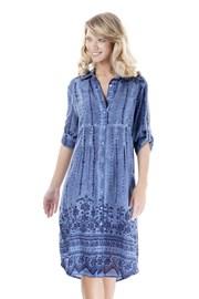 7a54a648a Dámske plážové šaty Giada. modrá
