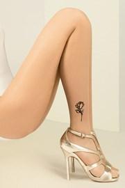 Pančuchové nohavice Jess s tetovaním