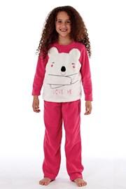 Dievčenské hrejivé pyžamo Bear