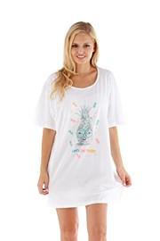 Dámska nočná košeľa Pineapple