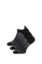 3 pack ponožiek Rex čierne