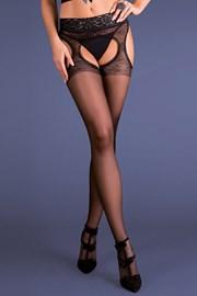 Pančuchové nohavice Strip panty Silvana