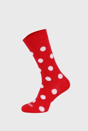 Ponožky Fusakle bodkované červené