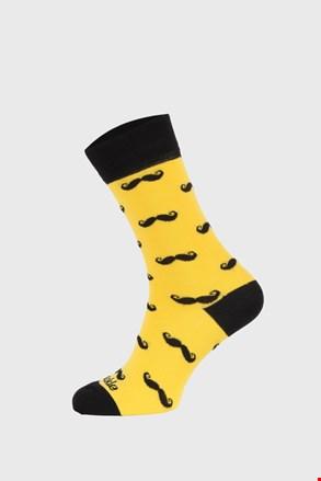 Ponožky Fusakle Fúzač žlté