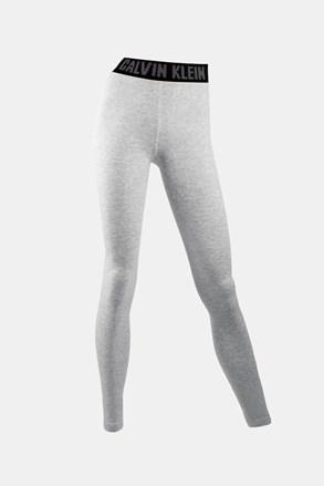 Legíny Calvin Klein Kara sivé
