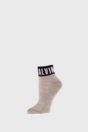 Dámske ponožky Calvin Klein Kayla sivé