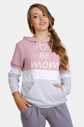 Be Mum kismama szabadidő felső, szoptatáshoz is