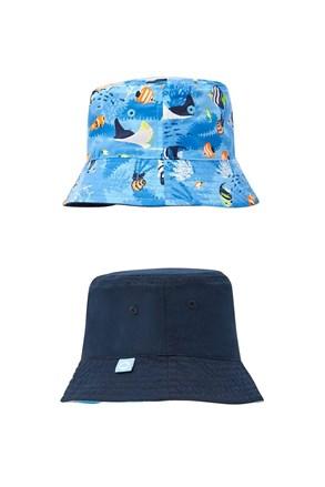Chlapčenský obojstranný klobúčik