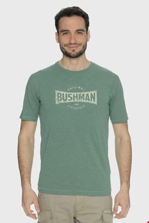 Zöld póló Bushman Symbol