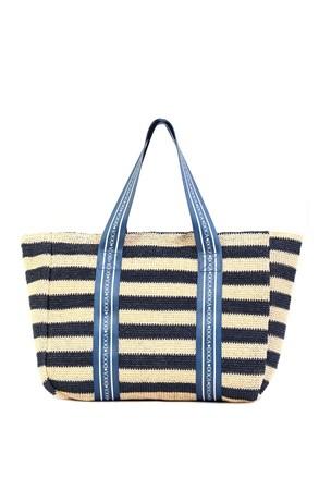 Dámska plážová taška Elle modrá