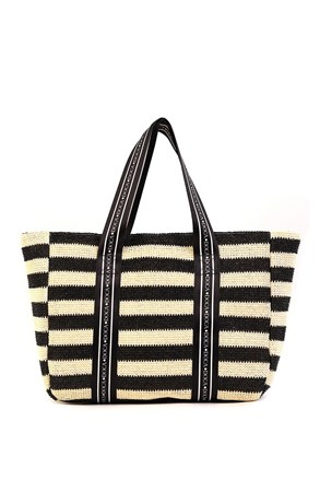 Dámska plážová taška Elle čierna