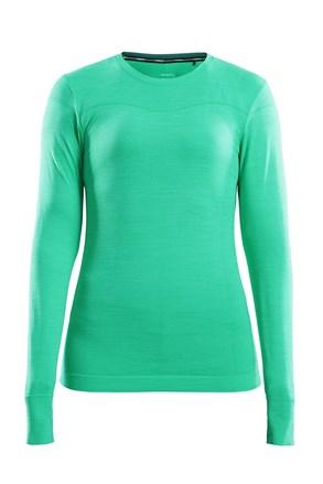 Dámske tričko Craft Fuseknit Comfort svetlozelené