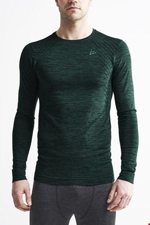 Pánske tričko Craft Fuseknit Comfort tmavozelené