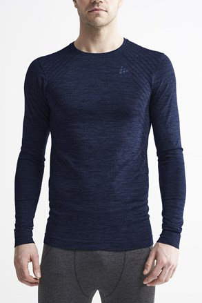 Pánske tričko Craft Fuseknit Comfort tmavomodré