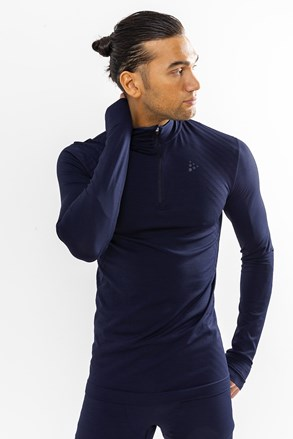 Pánske tričko Craft Fuseknit Comfort Zip