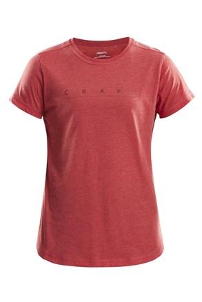 Dámske tričko CRAFT Deft červené