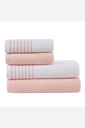 Súprava uterákov a osušiek Eleganza ružová