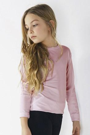 Dievčenské tričko s dlhým rukávom Star