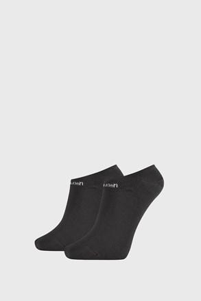 2 PACK dámskych ponožiek Calvin Klein Leanne čierne