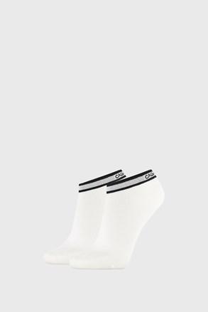 2 PACK bielych dámskych ponožiek Calvin Klein Spencer