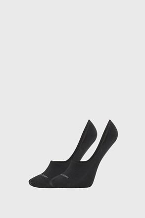 2 PACK dámskych ponožiek Calvin Klein Jessica čierne