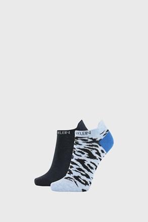 2 PÁR Calvin Klein Libby kék női zokni