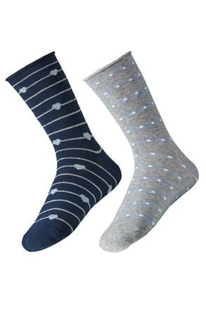 2 pack dámskych ponožiek Ely