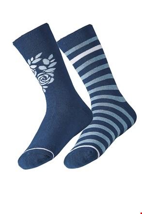 2 pack dámskych hrejivých ponožiek Rose